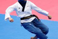 (亚运会)跆拳道——印尼选手获得女子个人品势冠军