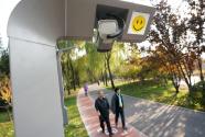 无人巴士 智能步道 智能亭——主题公园来了