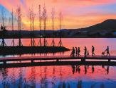 长沙后湖治理三年:还一湖碧水 蕴一城诗意