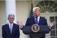 特朗普白宫讲话:力挺姆努钦 再批美联储