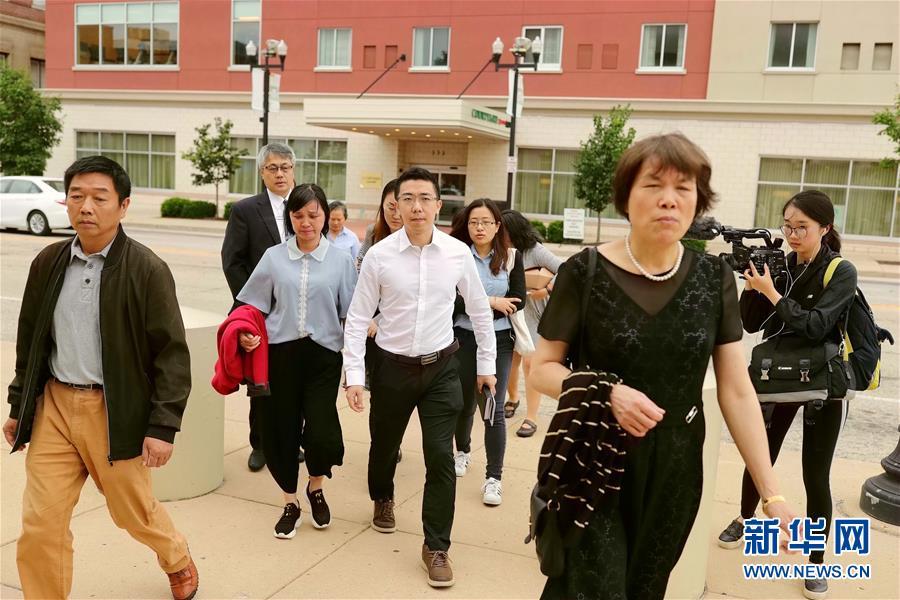 (国际)布伦特·克里斯滕森绑架和谋杀中国访问学者章莹颖的罪名成立