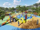 公共儿童活动场:英国社区的标配