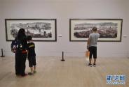 """携""""云月八千里""""三度走进中国美术馆 台湾画家江明贤谈""""一生的热爱与梦想"""""""