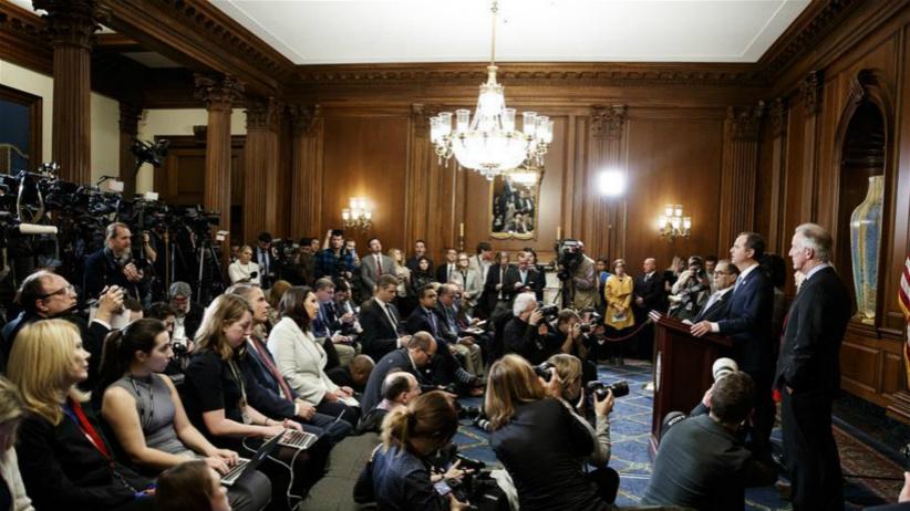 美众议院司法委员会宣布对特朗普的弹劾条款