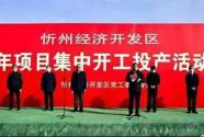 """硬核!山西忻州经济开发区""""网签""""5个半导体项目95.6亿元"""