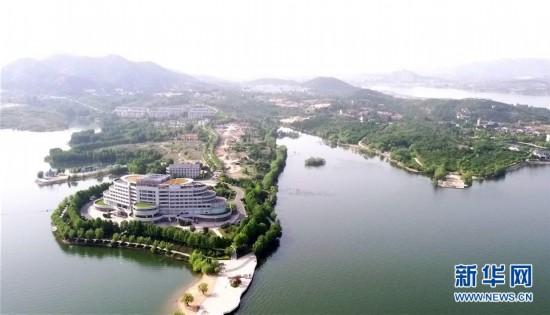 """(美丽中国)(4)雪野湖畔""""瞰""""山水"""