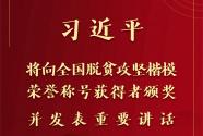 全国脱贫攻坚总结表彰大会将于25日在京举行